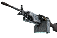 M249 | Blizzard Marbleized (Field-Tested)